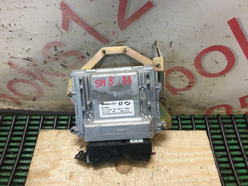 Блок управления двигателем Samsung Sm5 ST 4AT 2004