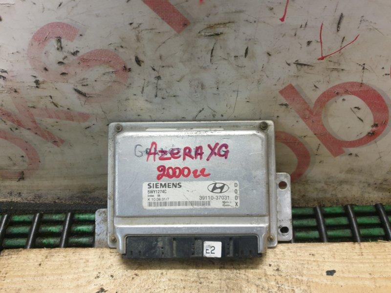 Блок управления двигателем Hyundai Azera XG 2000