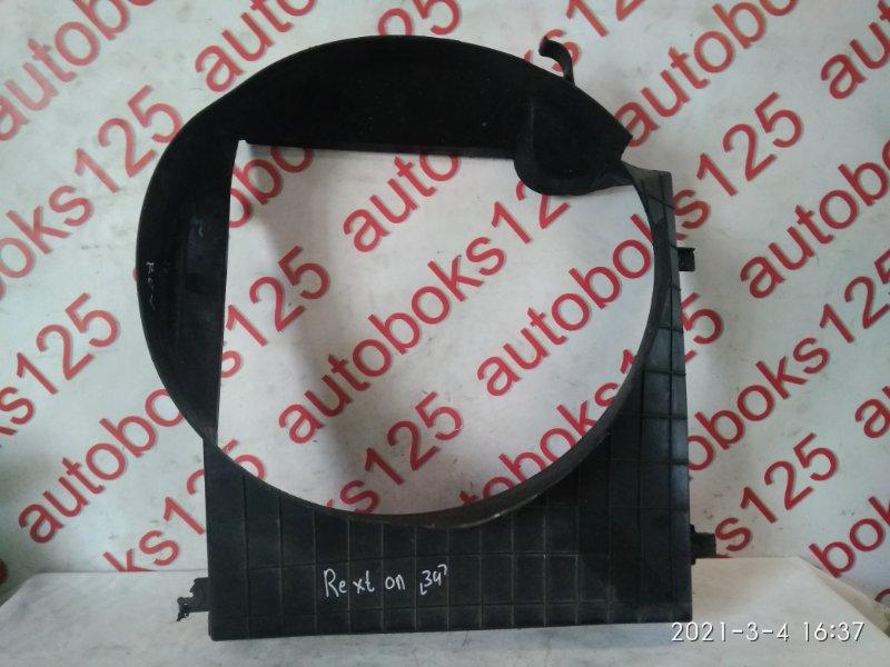 Диффузор радиатора двс Ssangyong Rexton D27DT (665926) 2004