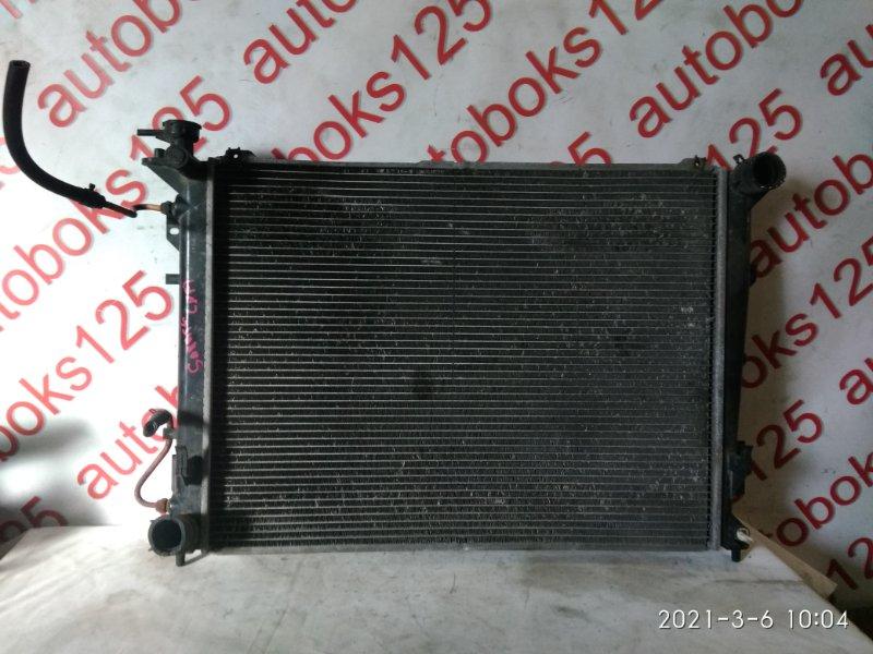 Радиатор двс Hyundai Sonata NF G4KA 2007