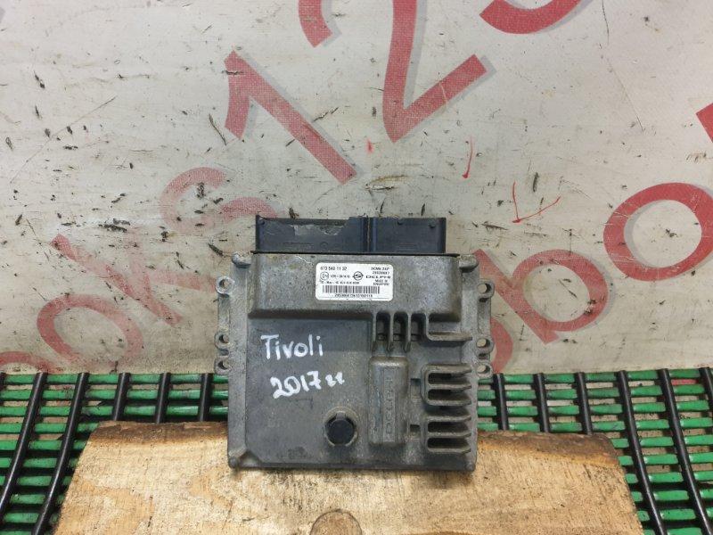 Блок управления двигателем Ssangyong Tivoli 2016