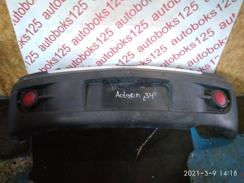 Бампер Ssangyong Actyon D20DT (664) 2007 задний