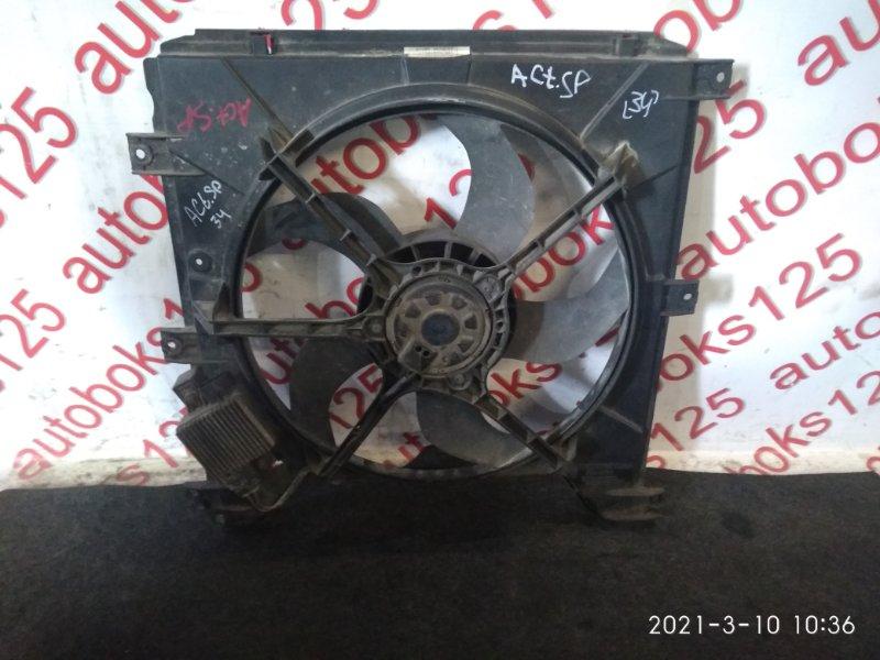 Диффузор радиатора двс Ssangyong Actyon Sports D20DT (664) 2007