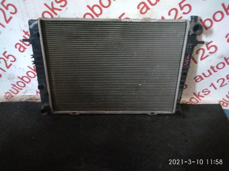 Радиатор двс Kia Sportage KM D4EA 2007