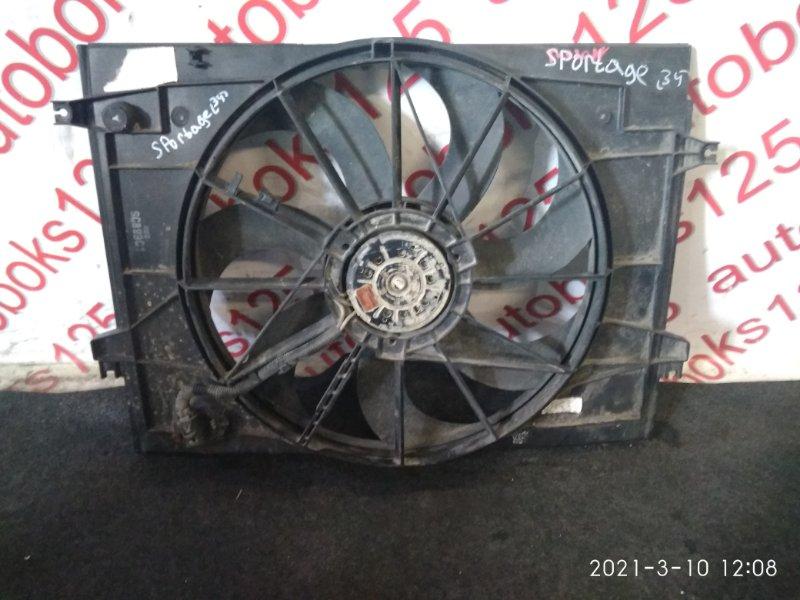 Диффузор радиатора двс Kia Sportage KM D4EA 2007