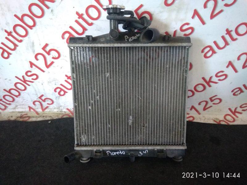Радиатор двс Kia Picanto SA G4HE 2010