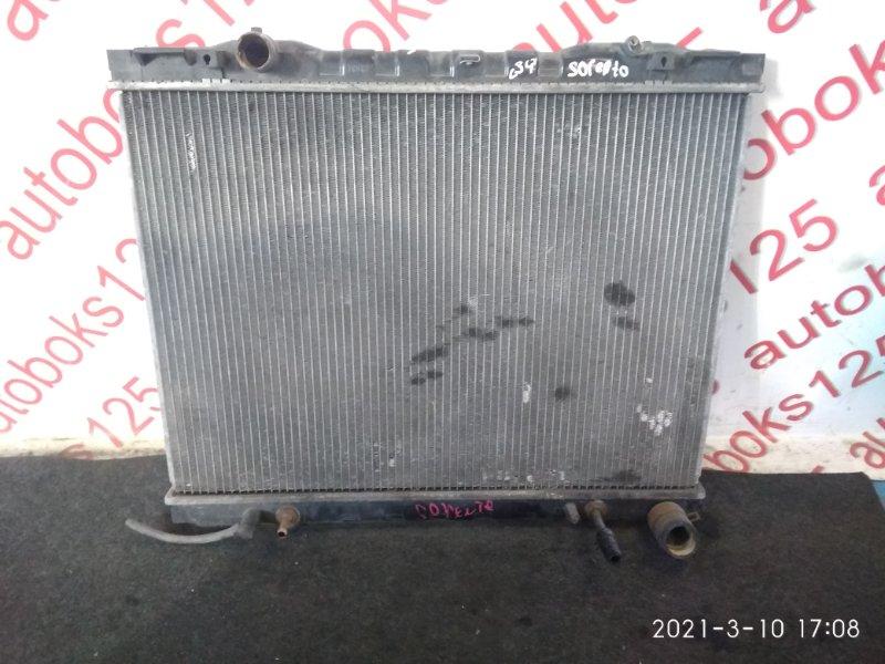 Радиатор двс Kia Sorento BL D4CB 2005