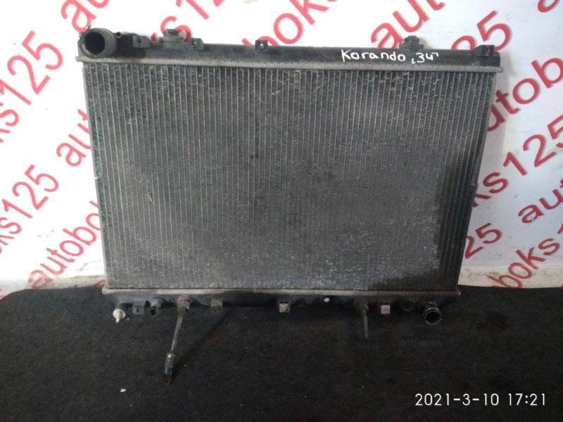 Радиатор двс Ssangyong Korando KJ OM662 (662 920) 2003