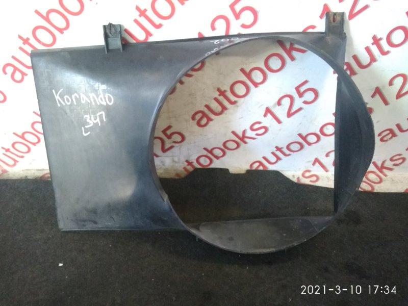 Диффузор радиатора двс Ssangyong Korando KJ OM661LA(661920) 2003