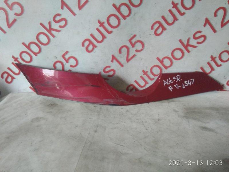 Планка под фары Ssangyong Actyon Sports D20DT (664) 2007 передняя правая