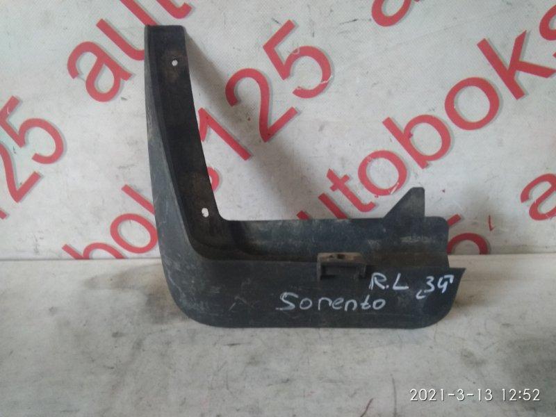 Брызговик Kia Sorento BL 2005 задний левый