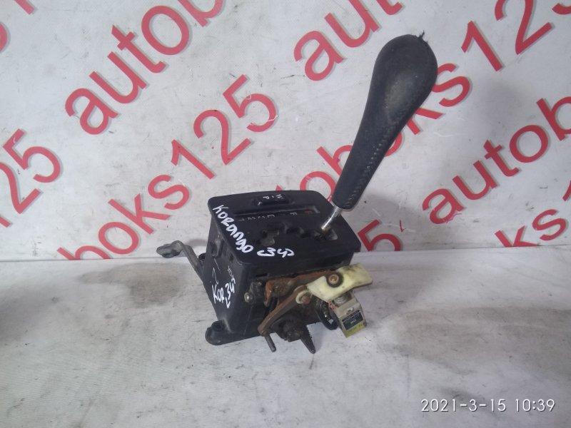 Ручка переключения акпп Ssangyong Korando KJ OM662 (662 910) 2003