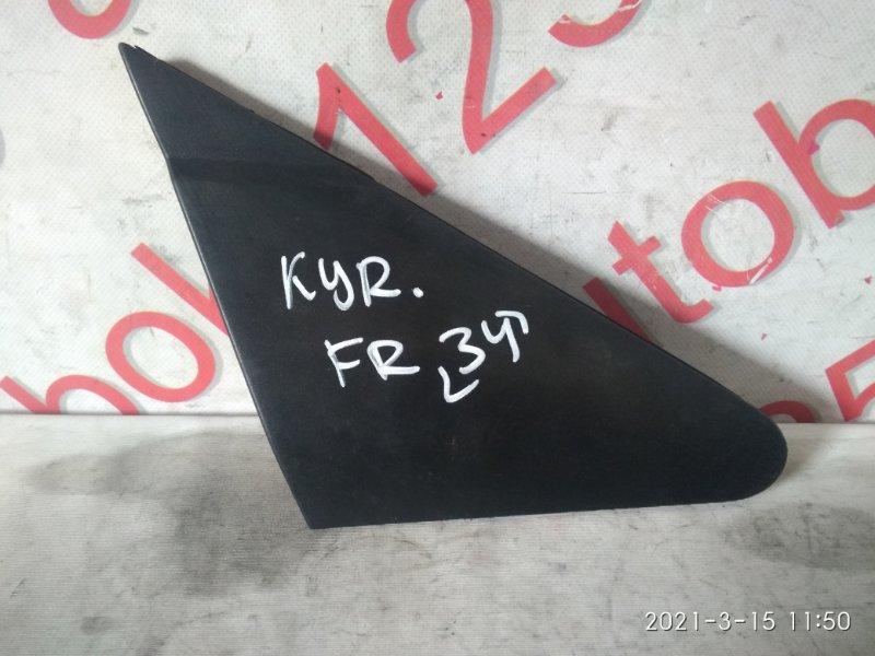 Накладка на крыло Ssangyong Kyron DJ D20DT (664) 2007 передняя правая