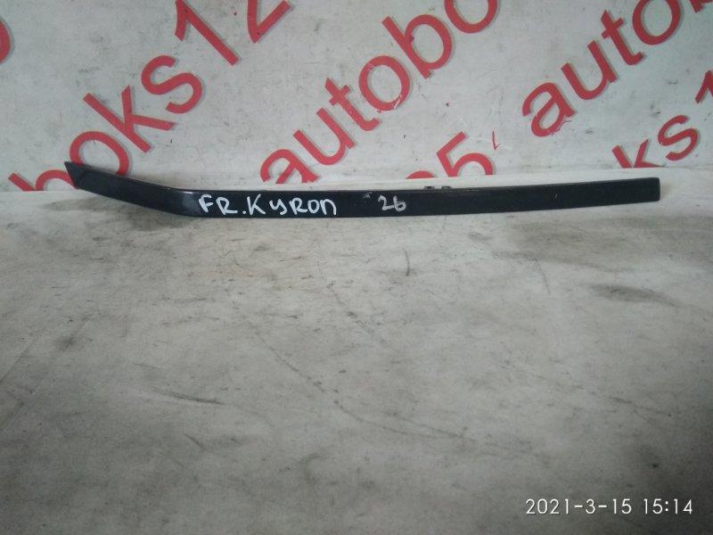 Планка под фары Ssangyong Kyron DJ D20DT (664) 2006 правая