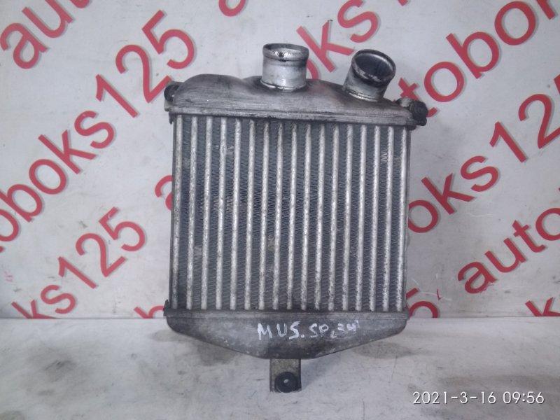 Радиатор интеркулера Ssangyong Musso FJ OM662 (662 920) 2003