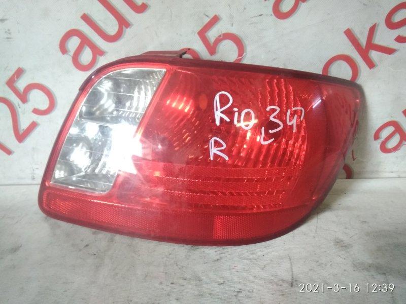 Стоп-сигнал Kia Rio 2009 правый
