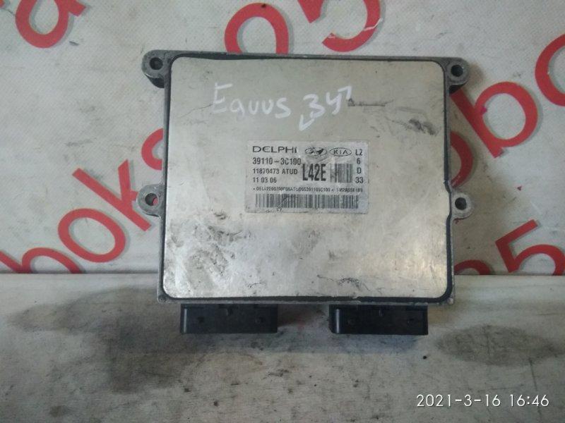 Блок управления двигателем Hyundai Equus YJ G6CU 2004