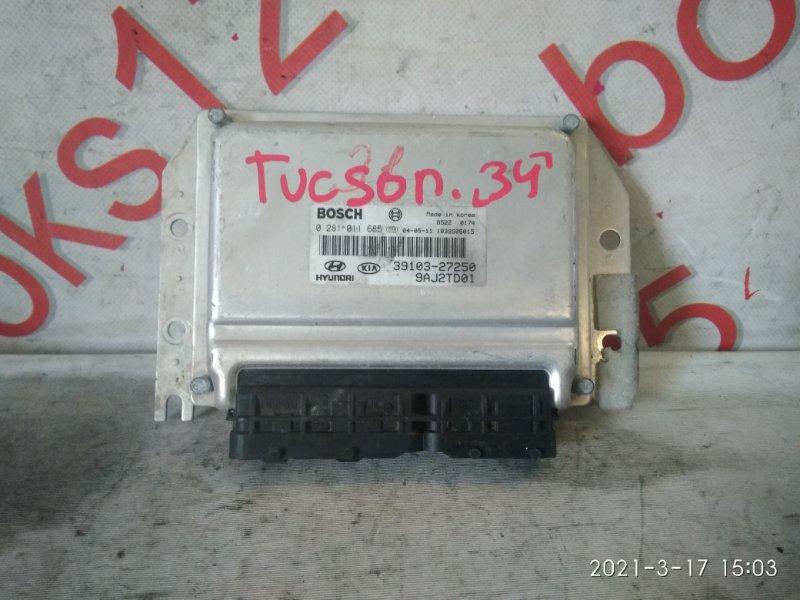 Блок управления двигателем Hyundai Tucson JM D4EA 2007