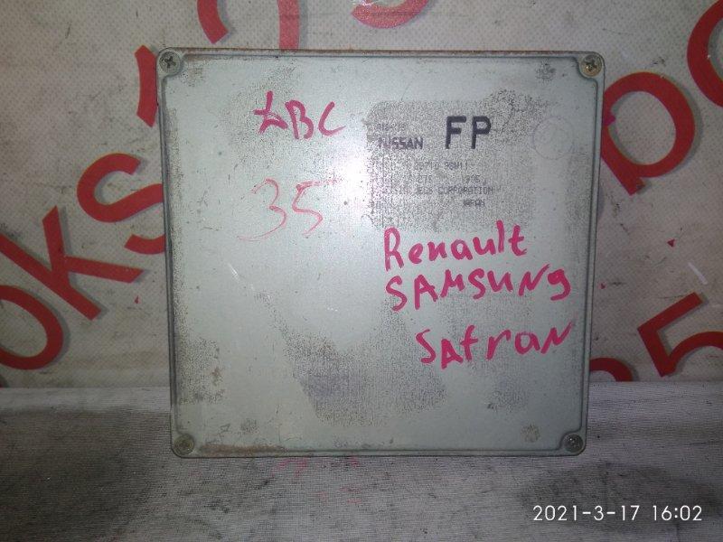 Блок управления двигателем Renault Safran