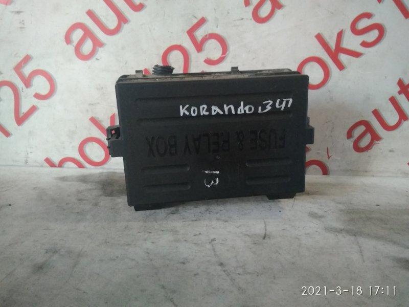 Блок предохранителей Ssangyong Korando KJ 2003