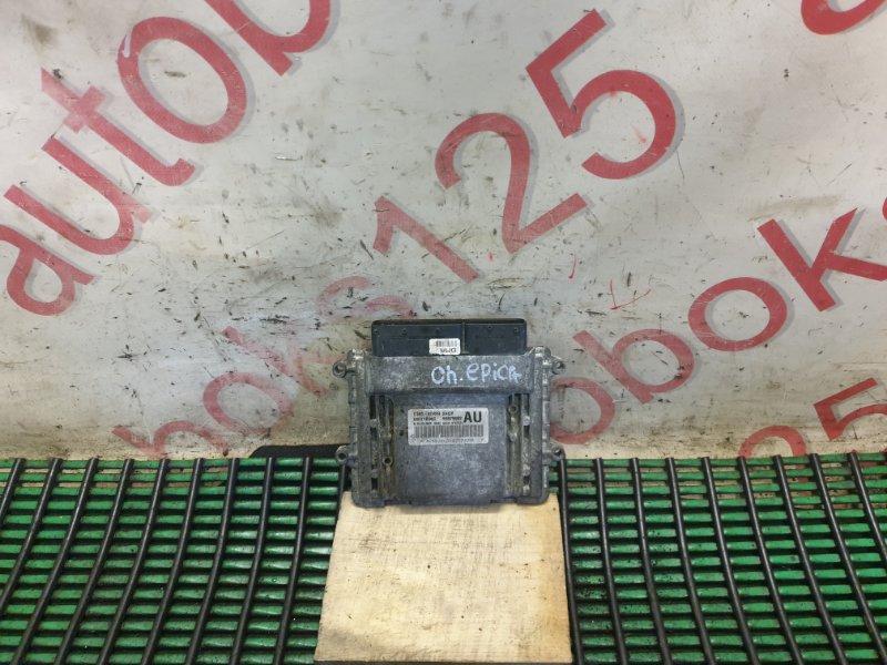 Блок управления Chevrolet Epica V250 X20D1 2009