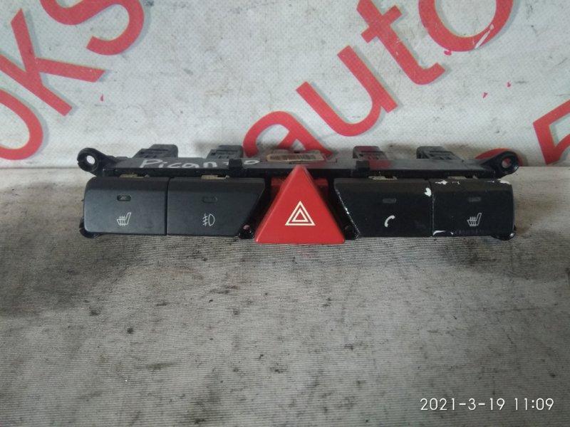 Кнопка обогрева сидений Kia Picanto SA 2010