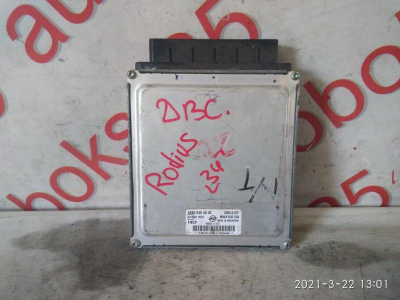 Блок управления двигателем Ssangyong Rodius D27DT 2007