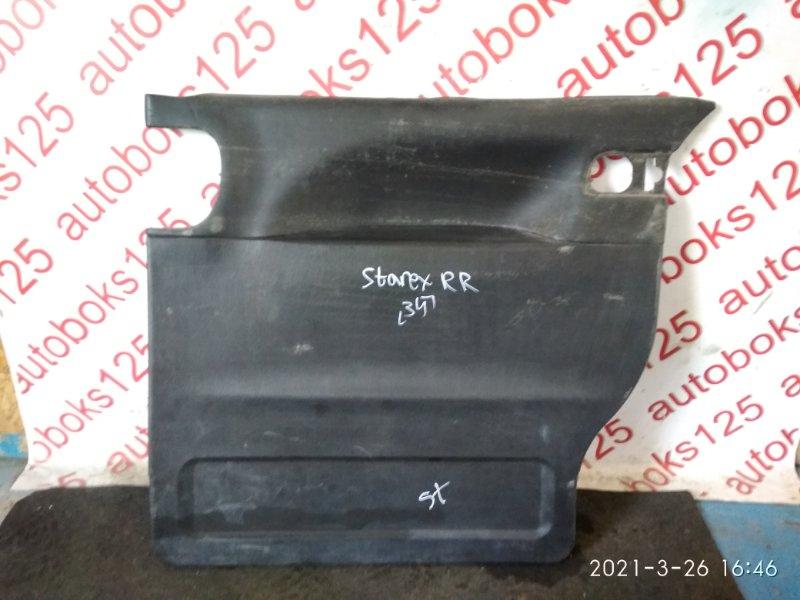 Обшивка двери Hyundai Starex A1 2003 задняя правая