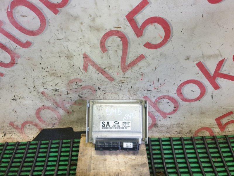 Блок управления двигателем Samsung Sm5 2004