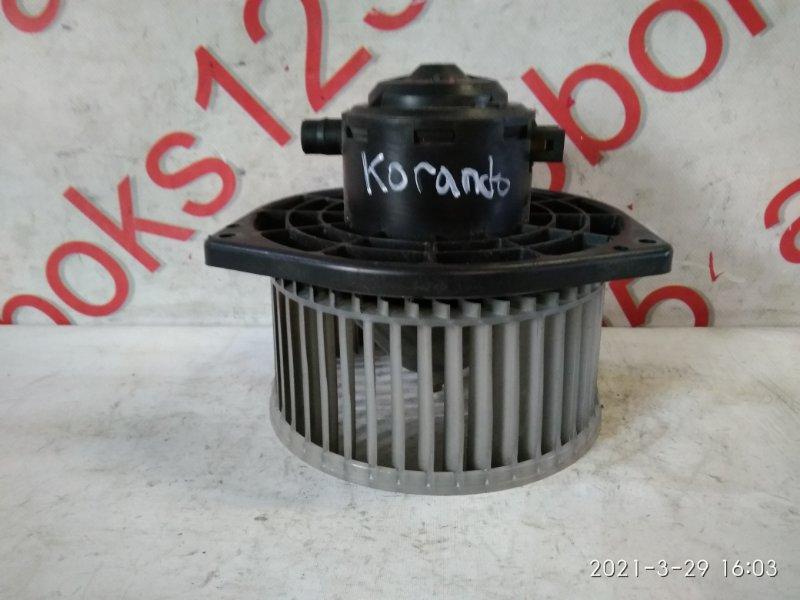 Мотор печки Ssangyong Korando KJ OM662 (662 920) 2003
