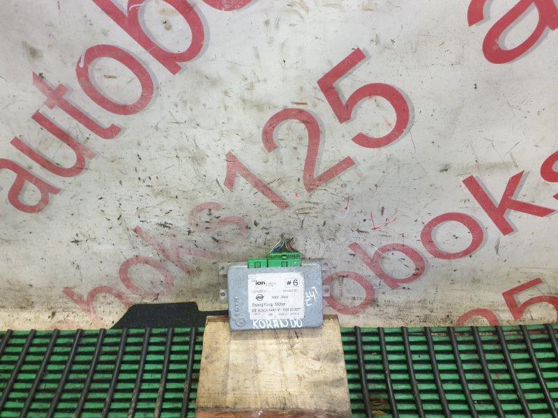 Блок управления акпп Ssangyong Korando KJ OM662 (662 920) 2003