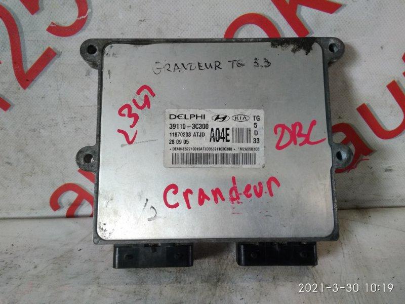 Блок управления двигателем Hyundai Grandeur TG 2007