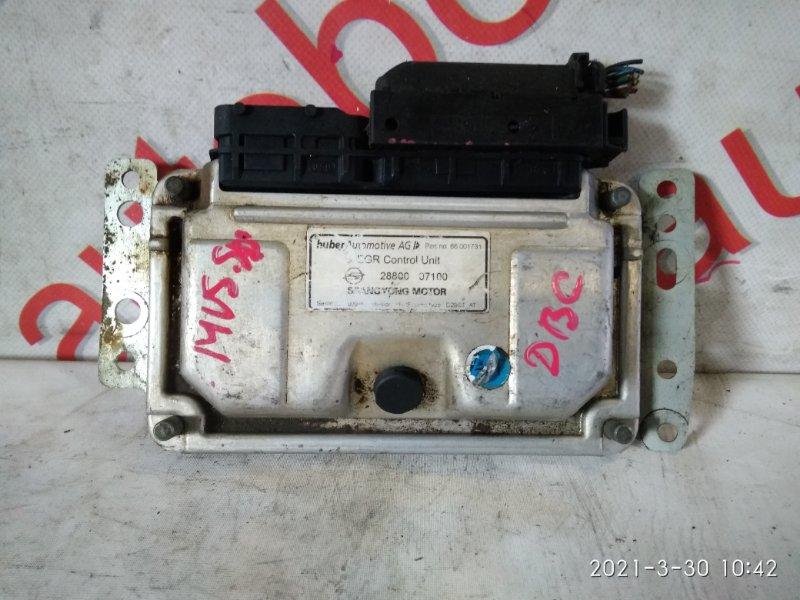 Блок управления двигателем Ssangyong Musso FJ OM662 (662 920) 2003