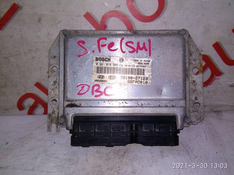 Блок управления двигателем Hyundai Santa Fe SM D4EA 2005