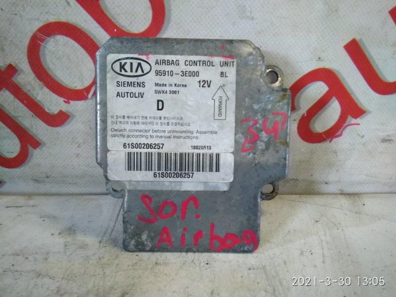 Блок управления аирбаг Kia Sorento BL D4CB 2005