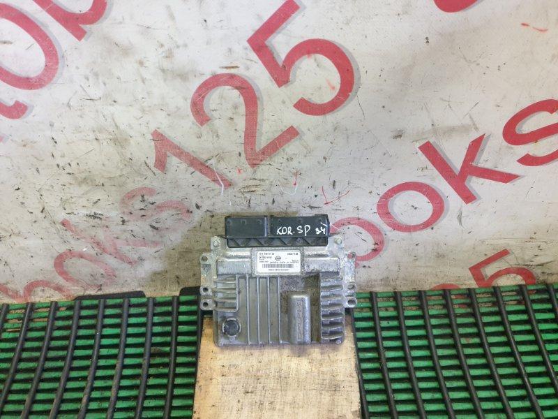 Блок управления двигателем Ssangyong Korando Sports D20DTR (671960) 2013