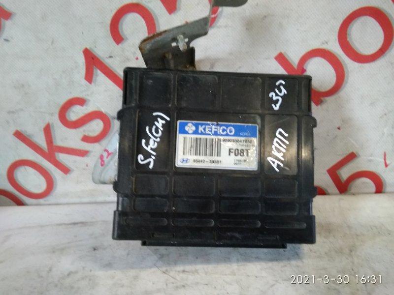 Блок управления акпп Hyundai Santa Fe CM 2006