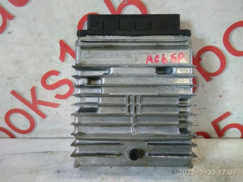 Блок управления двигателем Ssangyong Actyon D20DT (664) 2007