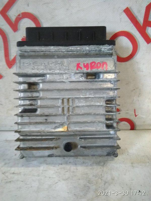 Блок управления двигателем Ssangyong Kyron DJ D20DT (664) 2007
