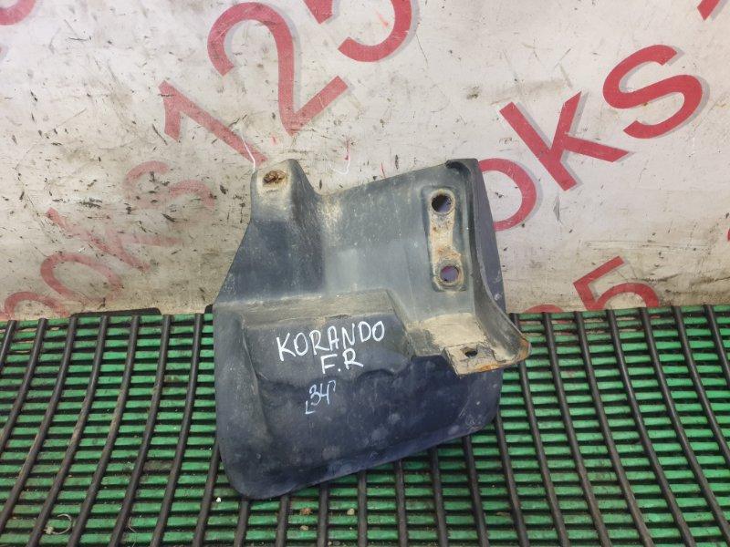 Брызговик Ssangyong Korando KJ OM662 (662 920) 2003 передний правый