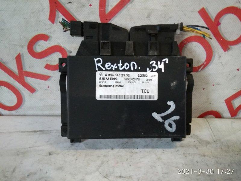 Блок управления Ssangyong Rexton 2005
