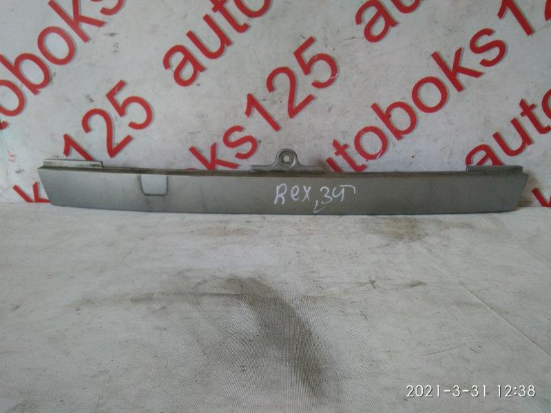 Накладка на дверь багажника Ssangyong Rexton 2004