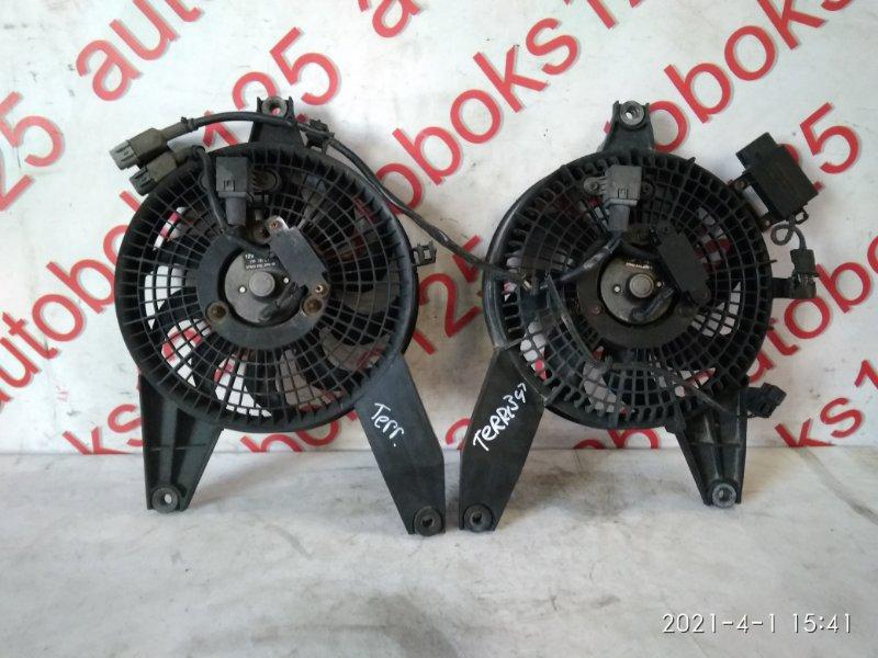 Вентилятор радиатора кондиционера Hyundai Terracan HP D4BH 2003