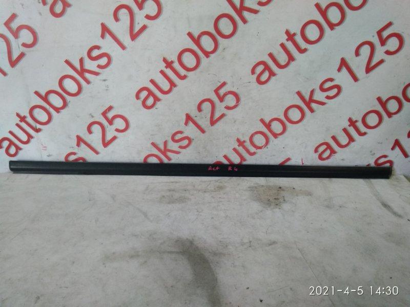 Молдинг стекла Ssangyong Actyon 2007 задний левый