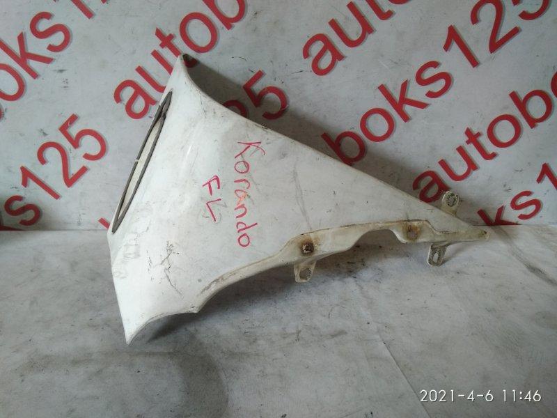 Крыло Ssangyong Korando KJ 2003 переднее левое