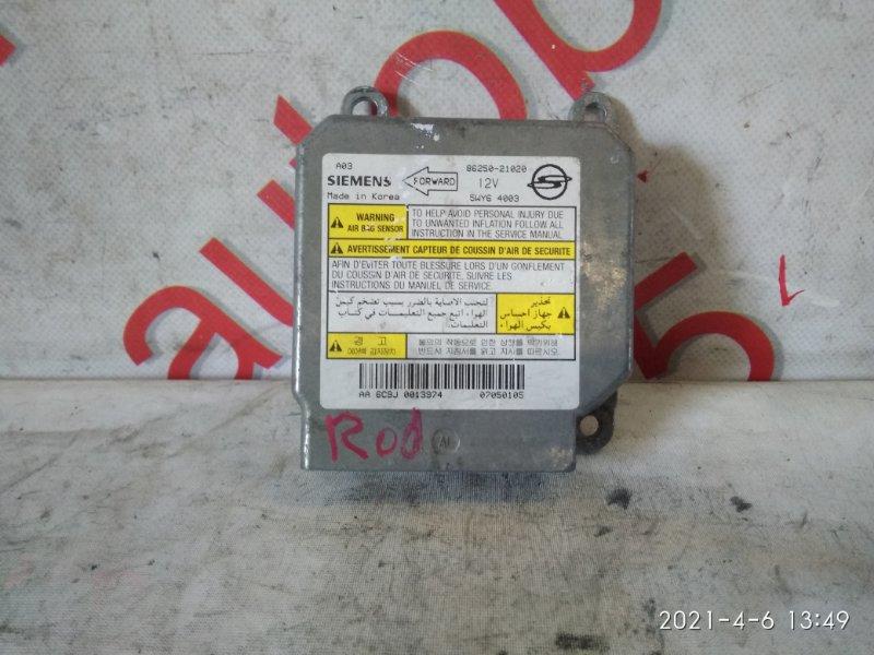 Блок управления аирбаг Ssangyong Rodius D27DT 2005
