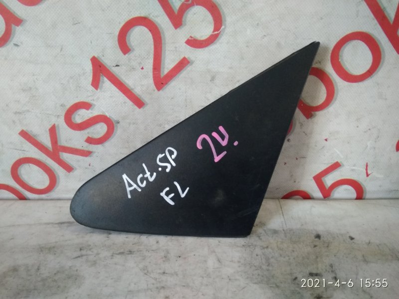 Накладка на крыло Ssangyong Actyon Sports 2007 передняя левая