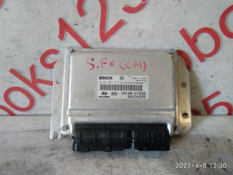 Блок управления двигателем Hyundai Santa Fe CM D4EA 2005