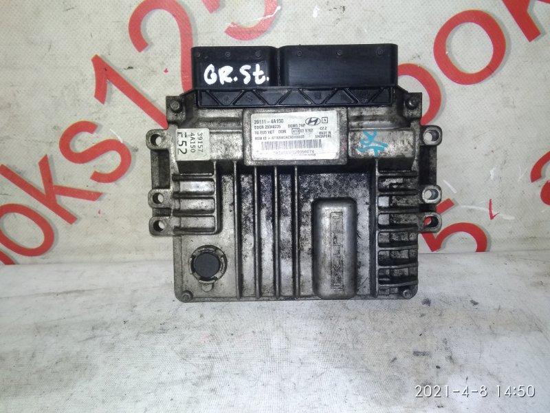 Блок управления двигателем Hyundai Grand Starex TQ D4CB 2012
