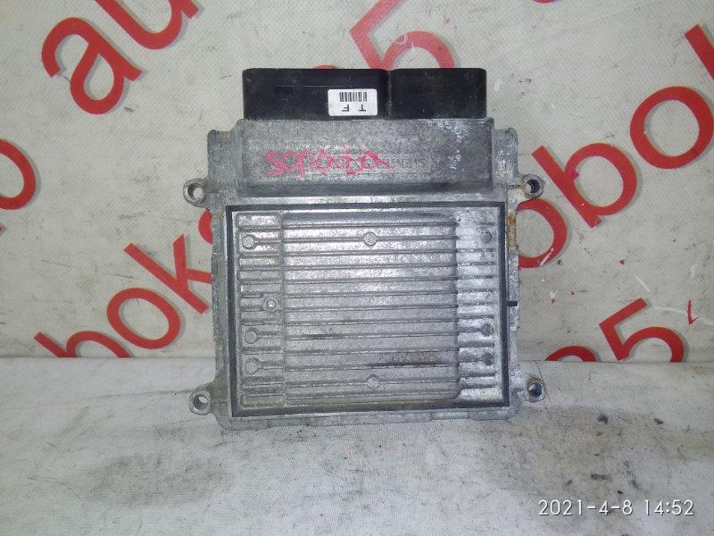 Блок управления двигателем Hyundai Sonata NF G4KA 2007